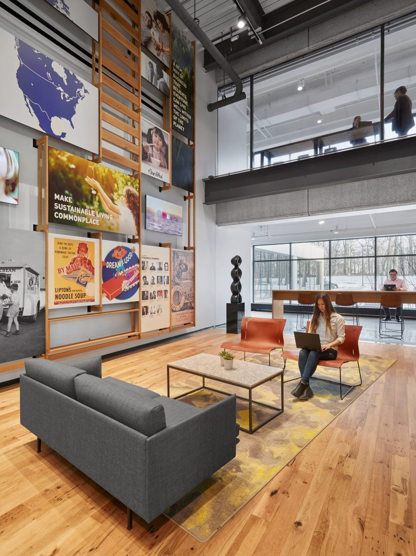 Perkins+Will Overhauls Unilever's New Jersey Campus With New for Everything About New Jersey Living Wills
