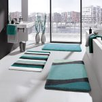 Bath Mats Blue And White